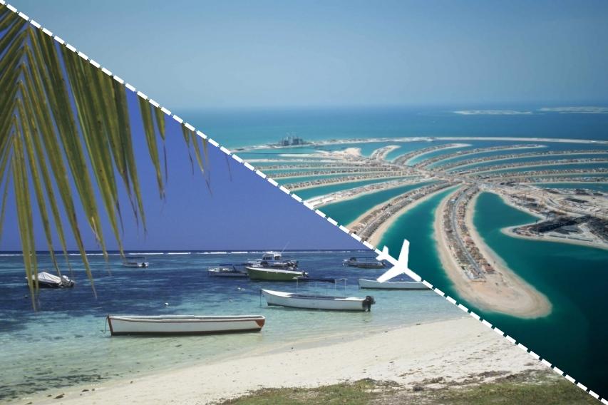 Combiné Dubaï-Ile Maurice