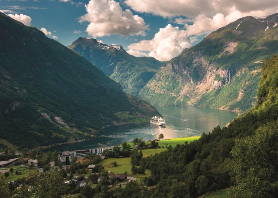 Croisière dans les fjords