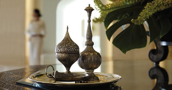 Bruleur d'encens traditionnel Omanais - copyright Shangrila