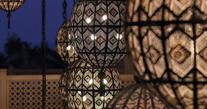 Décoration orientale raffinée - copyright Shangrila