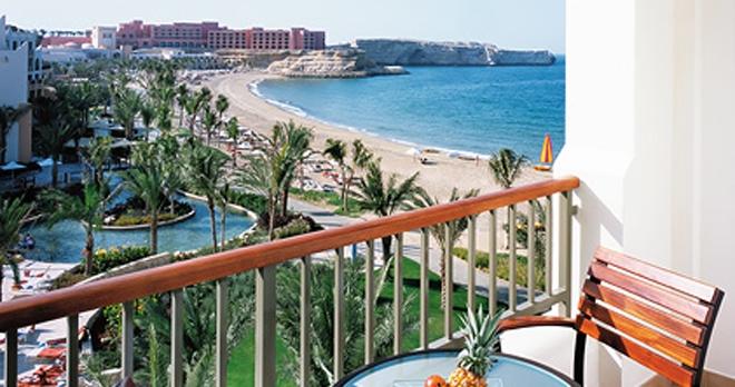 Al Waha Hotel - vue balcon