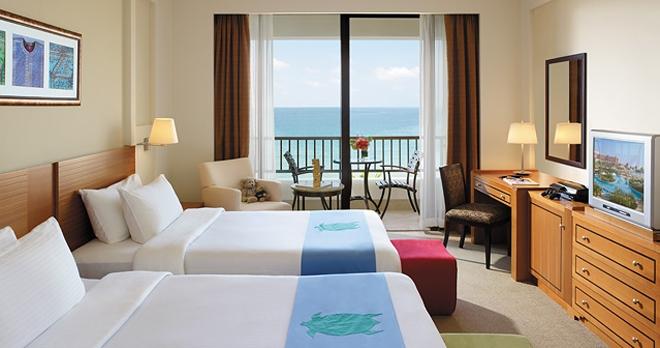 Al Waha Hotel - Chambre Famille lits jumeaux