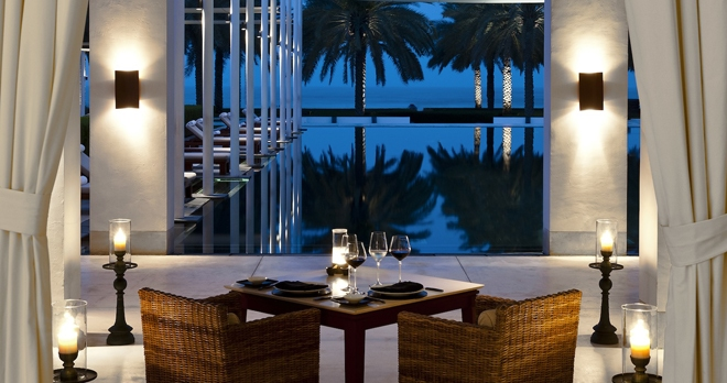 The Serai Pool Cabana - copyright The Chedi Muscat Hotel