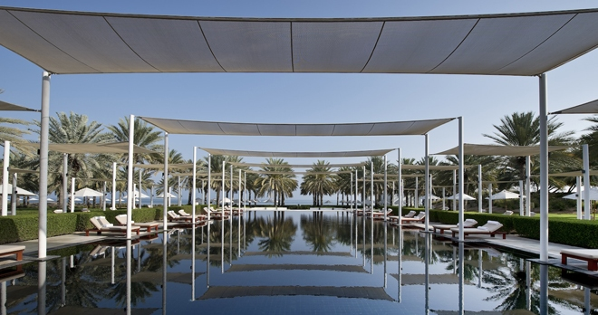Piscines The Serai - copyright The Chedi Muscat Hotel