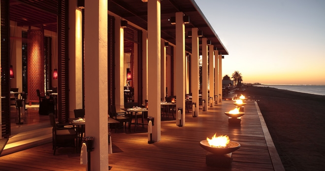 The Beach Restaurant - copyright The Chedi Muscat Hotel