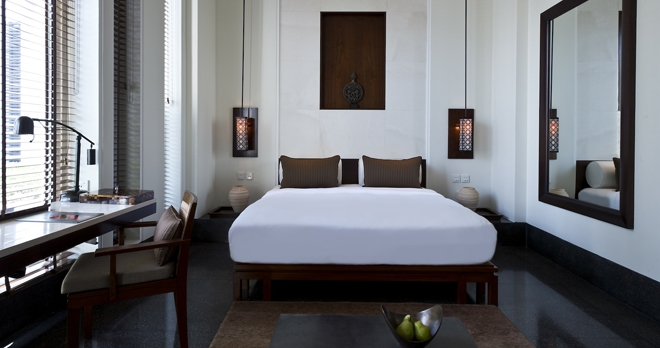 Chambre Deluxe - copyright The Chedi Muscat Hotel