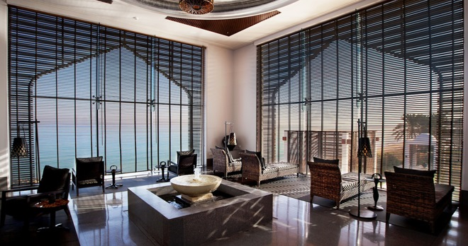 Spa, salle de relaxation - copyright The Chedi Muscat Hotel