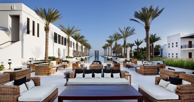 The Long Pool Cabana - copyright The Chedi Muscat Hotel