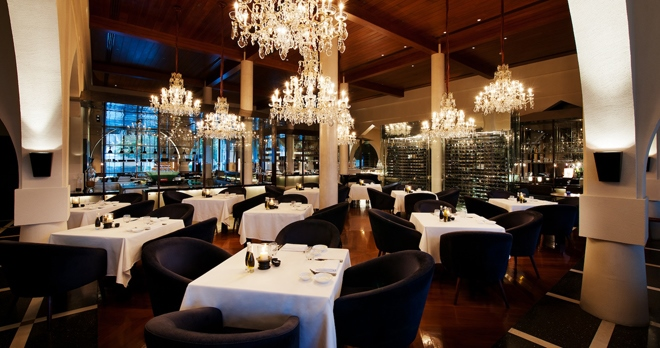 The Restaurant - copyright The Chedi Muscat Hotel