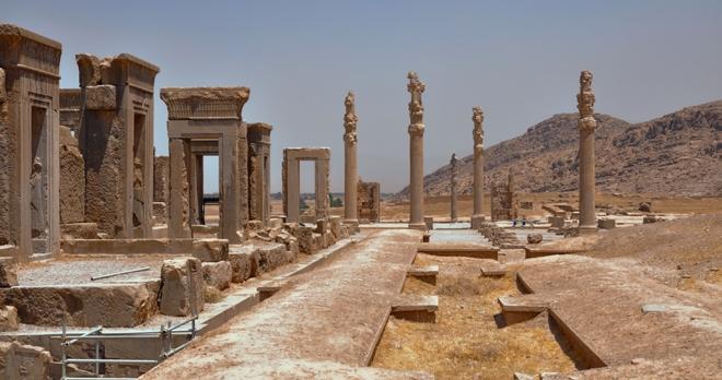 Persepolis - copyright Michal Knitl/shutterstock