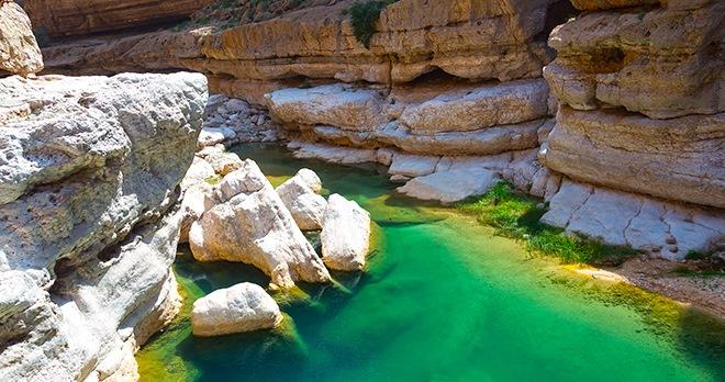 Wadi Shab-copyright Ivan Pavlov / Shutterstock