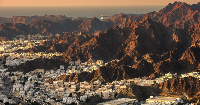 Panorama de la ville de Muscat, Oman - Copyright Frantisek Staud / Shutterstock