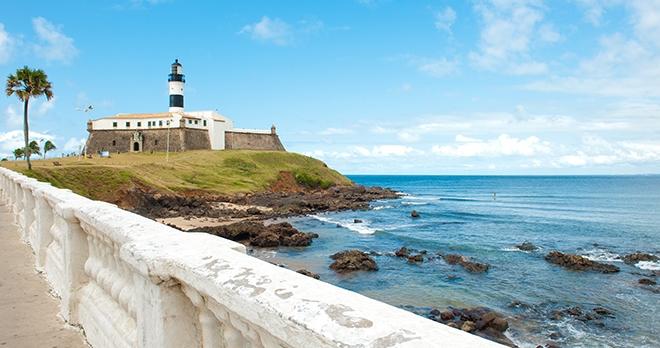 Barra lighthouse, Salvador Bahia - copyright Vinicius Tupinamba / Shutterstock