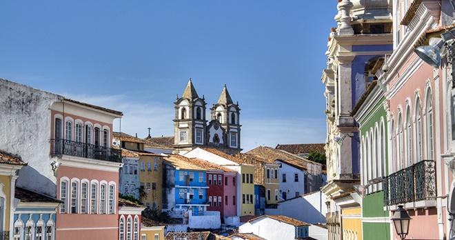 Vieille ville de Salvador de Bahia - copyright nicolasdecorte / Shutterstock