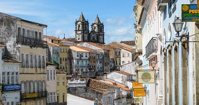 Vieille ville de Salvador de Bahia - copyright EP Adler / Shutterstock