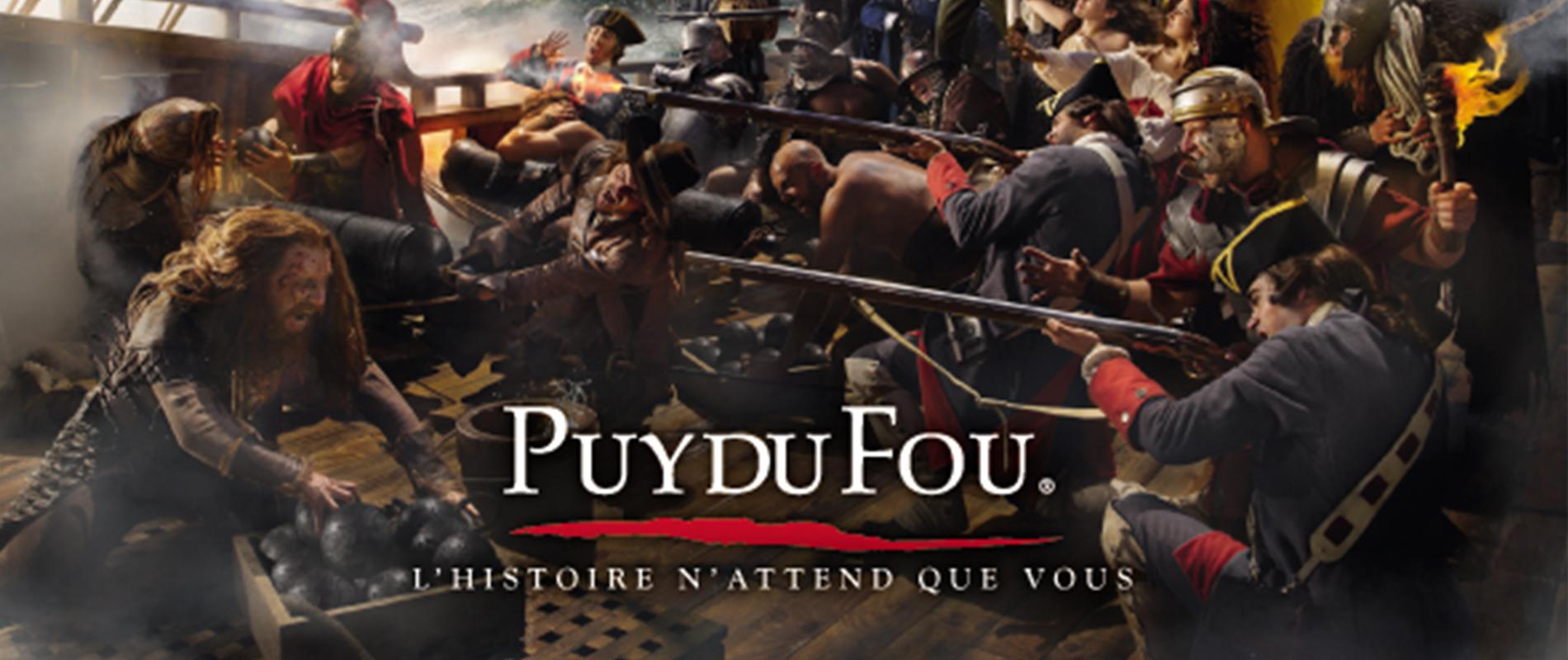 Week-end au Puy du Fou à partir de 605 € TTC