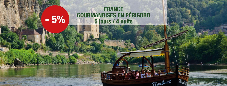 Gourmandises en Périgord à partir de 594 € TTC