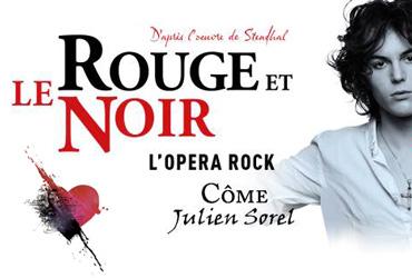 Dimanche 27 Novembre 2016, Transport et spectacle LE ROUGE ET LE NOIR à partir de 84 € TTC
