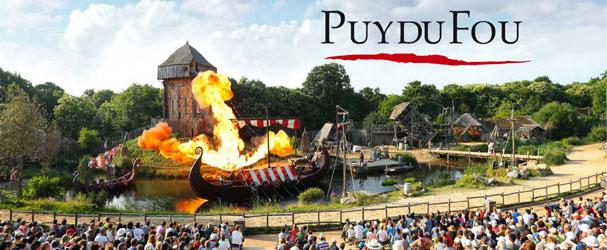 Un weekend à arpenter les allées du parc du Puy du Fou vous serez transportez à travers les siècles à travers leur spectacle grandiose. L'histoire n'attend que vous... PUY DU FOU à partir de 305 € ttc au lieu de 0 € ttc