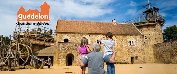 Une journée au Moyen-Âge, pour les petits comme pour les grands. Venez apprendre comment se construisait un château avec les moyens de l'époque. GUÉDELON à partir de 90 € ttc au lieu de 90 € ttc