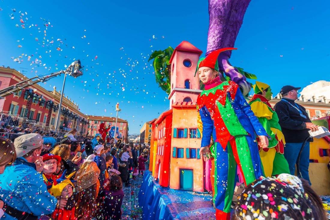 Festivités du Carnaval entre Nice et Menton à partir de 395 € TTC
