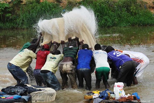 Les lavandiers «Fanicos »