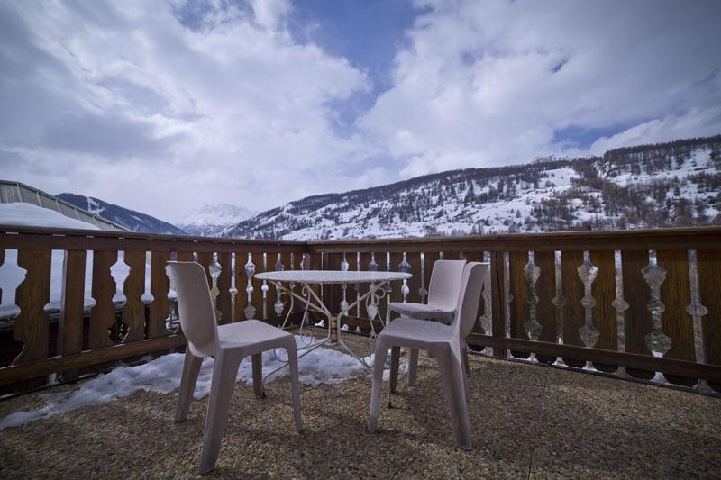 Terrasse Val d'Escreins