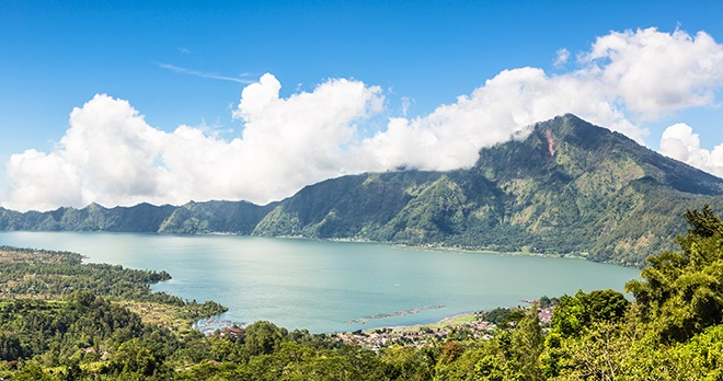 Volcan et lac de Batur - copyright AsiaTravel