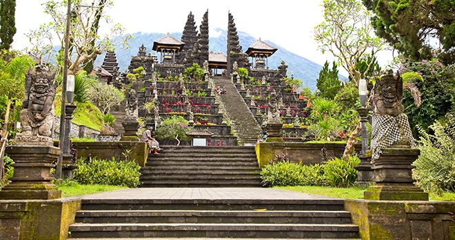 Temple Agung Besakih - copyright Aleksandar Todorovic / Shutterstock