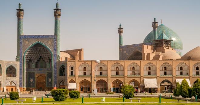 Iran - mosquée Emam Isfahan -copyright milosk50/shutterstock