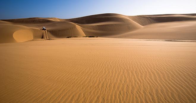 Désert du Namib - copyright iladm/shutterstock